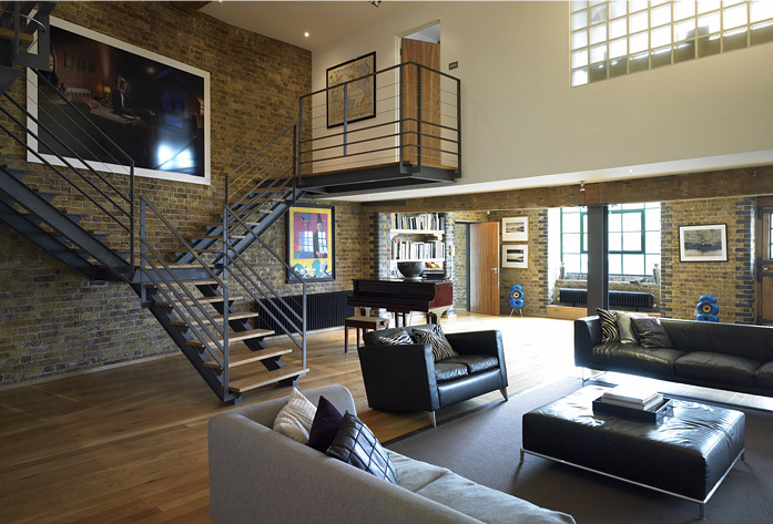 ideias de loft fotos. Black Bedroom Furniture Sets. Home Design Ideas