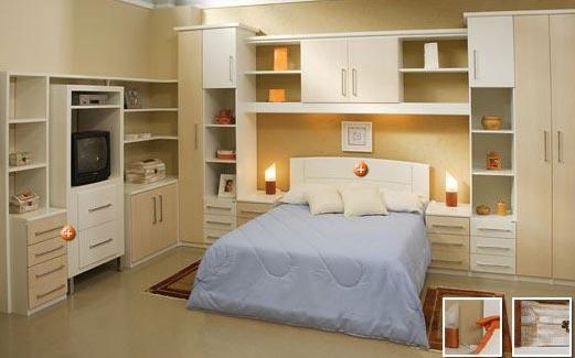 Quarto Planejado Casal Apartamento ~ Quarto de Casal Planejado ? Fotos