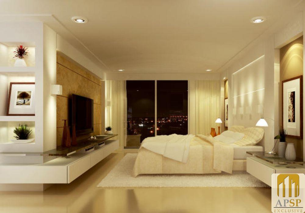 decoracao de interiores salas e quartos:Quarto de Casal Planejado – Fotos