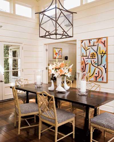 4 estilos de sala de jantar for Sala rustica moderna