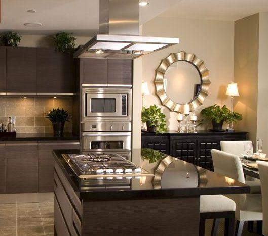decorar cozinha moderna:Como decorar cozinha escura
