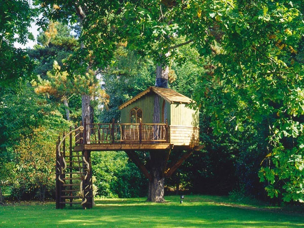 Passo a passo como montar uma casa na rvore for Hotel con casas colgadas de los arboles