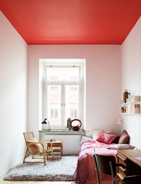 decoracao teto banheiro:teto decorado não é uma novidade na decoração e nós já falamos