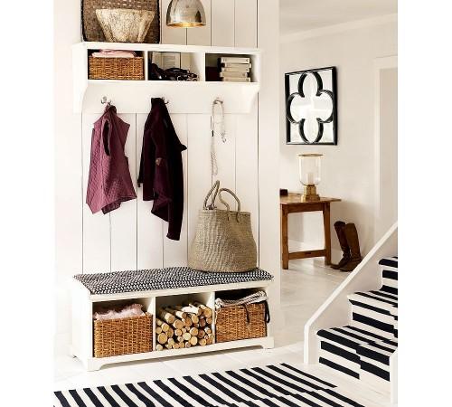 Como decorar o corredor ou o hall - Banco para entrada de casa ...