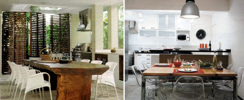 decorar uma cozinha:Como decorar uma cozinha externa 7