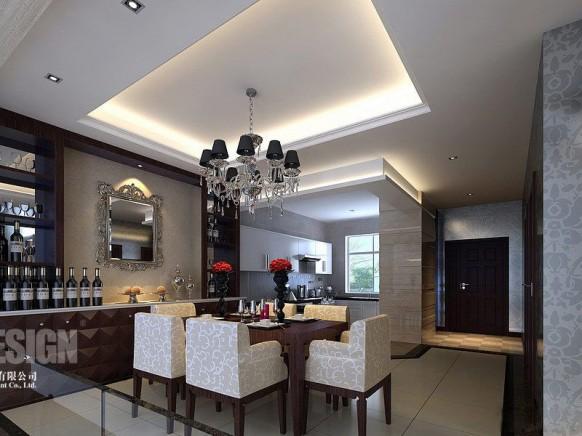 4 dicas para decorar sua sala de jantar for Dining room niche ideas